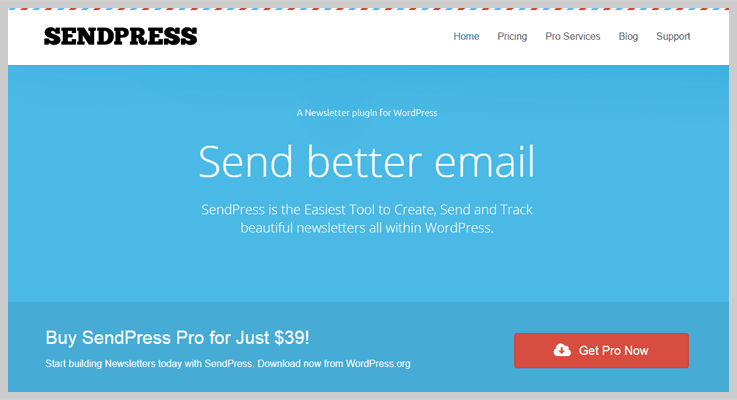 sendpress newsletter plugin