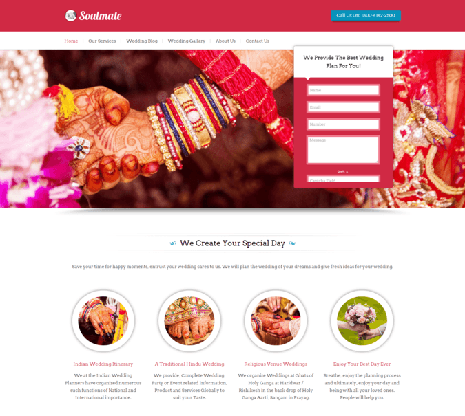 soul mate wp theme