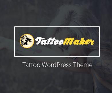TattooMaker - The Tattoo WordPress Theme