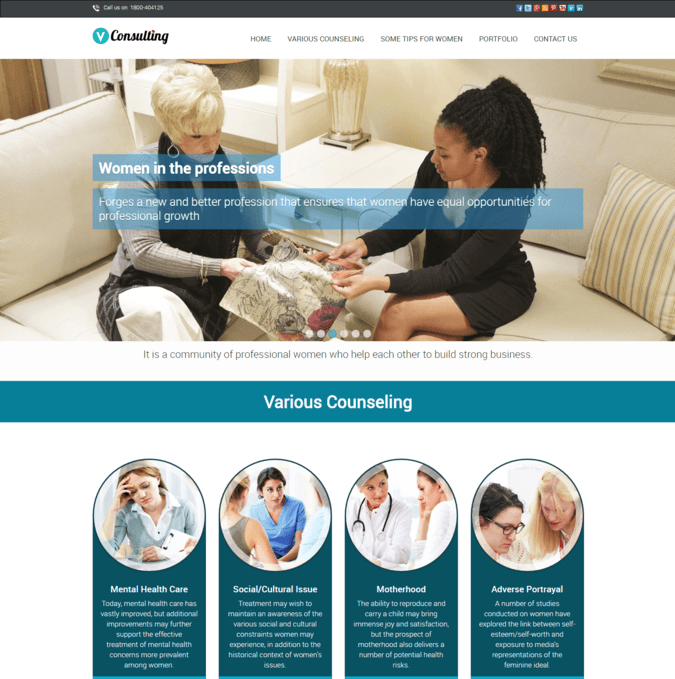vconsulting wp theme