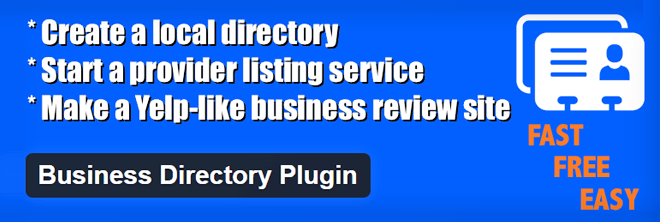 WordPress Business Directory Plugin