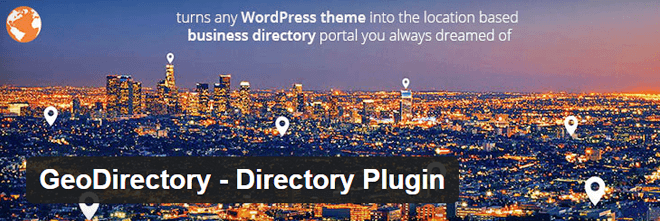 WordPress Geo Directory Plugin