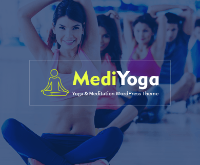 MediYoga - Yoga WordPress Theme