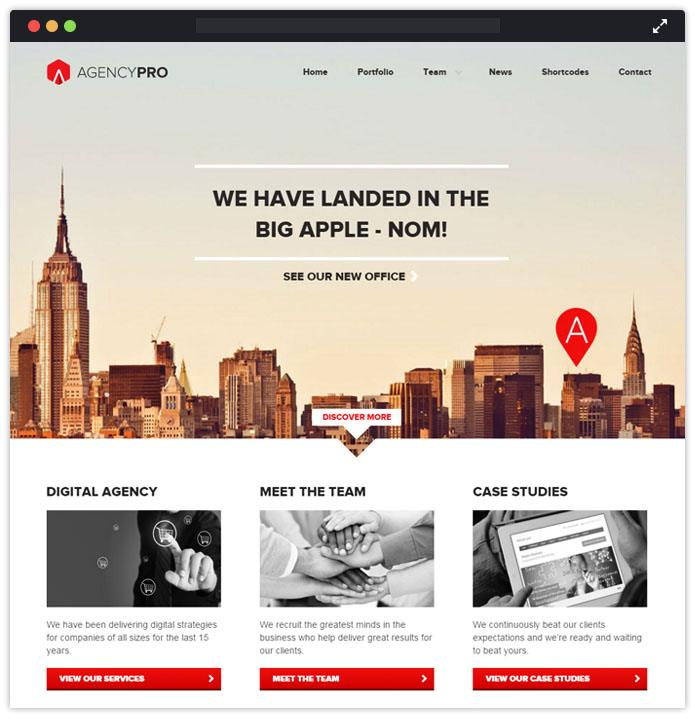 Latest best 10 corporate premium wordpress themes 2018 inkthemes agency pro corporate wordpress themes inkthemes maxwellsz