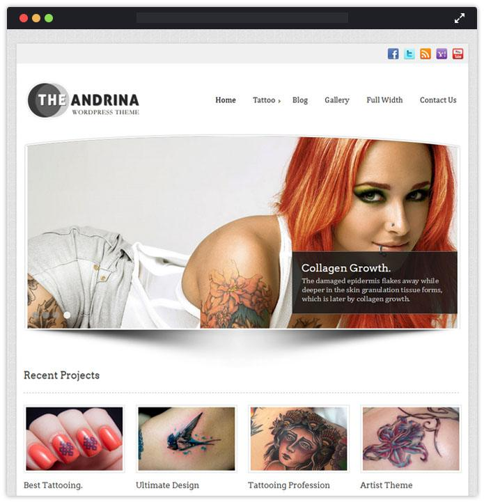 Andrina WordPress Theme