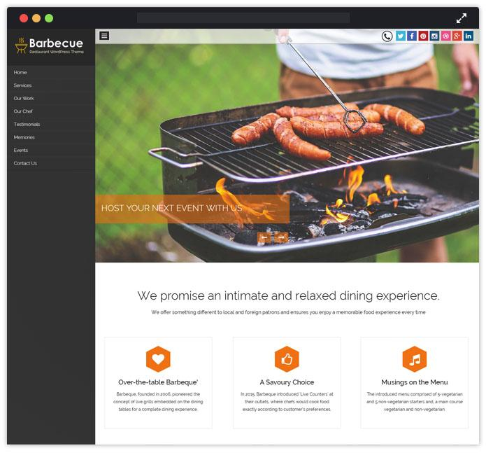 Barbecue WordPress Theme