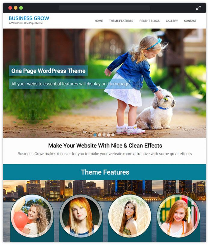 Business Grow Speaker WordPress Themes InkThemes