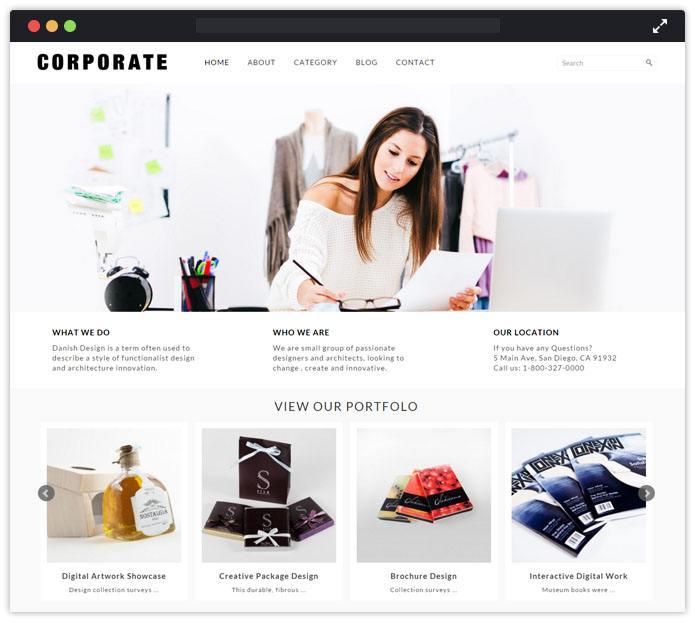 Corporate Corporate WordPress Themes InkThemes