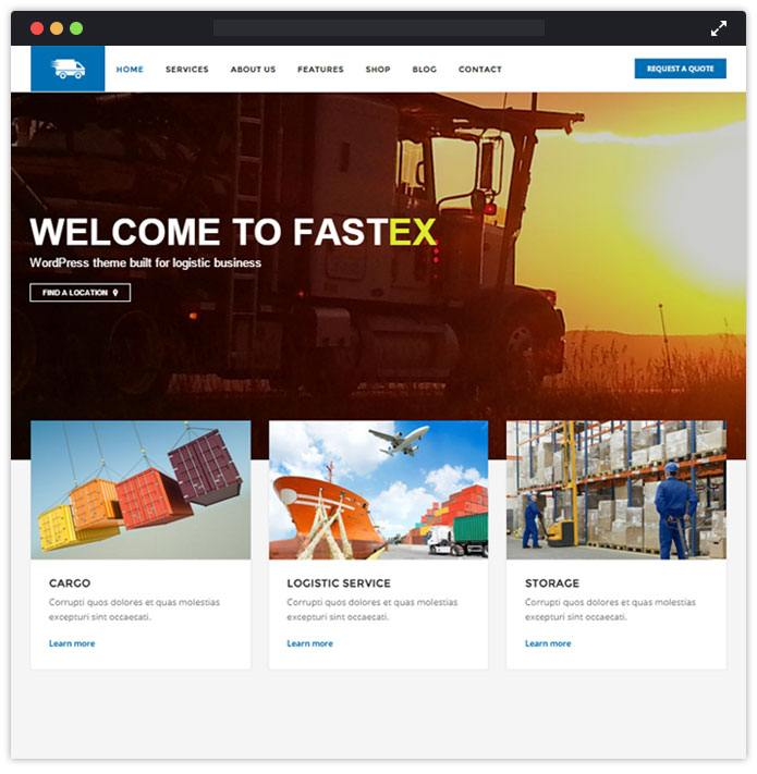 FastEx-logistics-wordpress-InkThemes