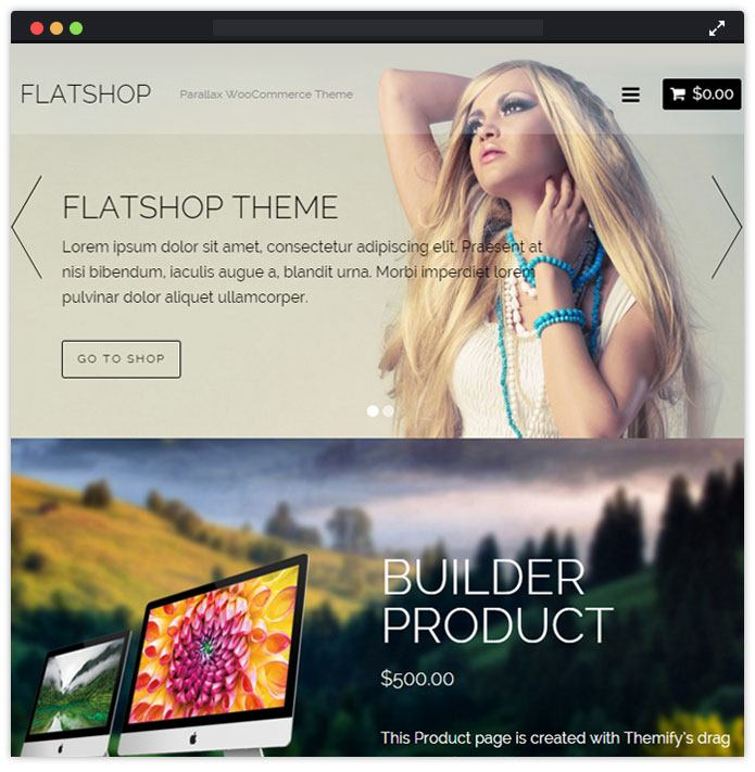 FlatShop Best Fashion WordPress Themes
