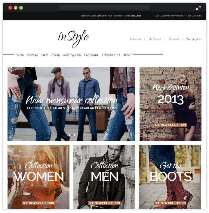 Instyle Best Fashion WordPress Themes