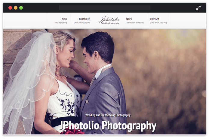 JPhotolio WordPress Theme