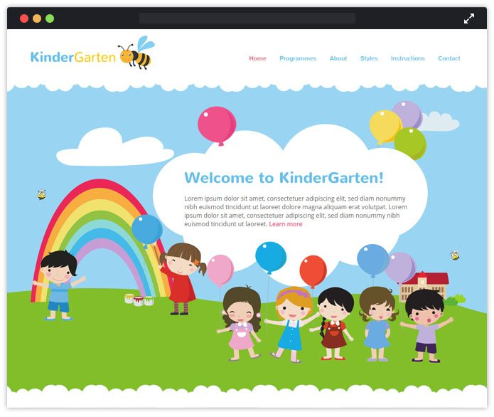 KinderGarten Best Preschool Child Care & Kindergarten WordPress Themes