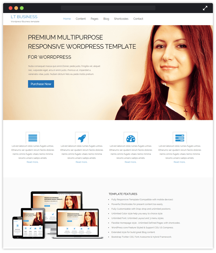 LT Business-agency-wordpress-InkThemes