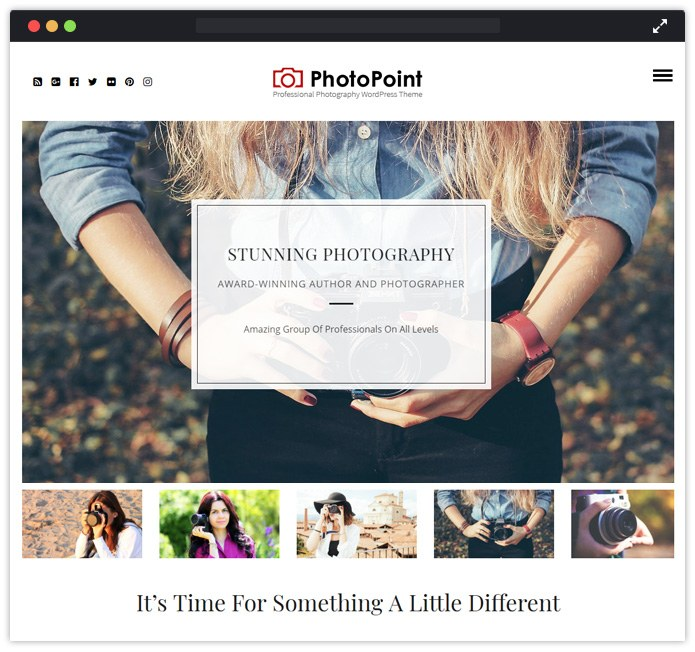 PhotoPoint WordPress Theme