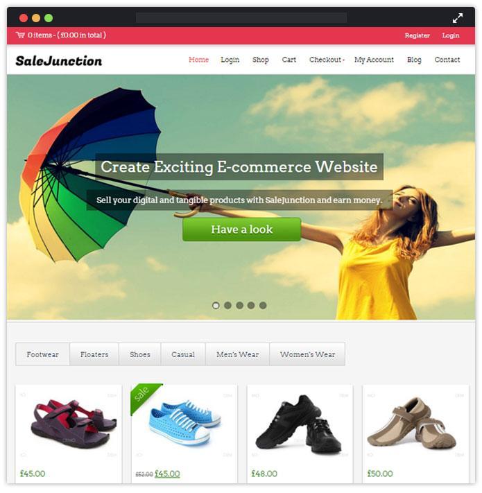 SaleJunction Best Fashion WordPress Themes
