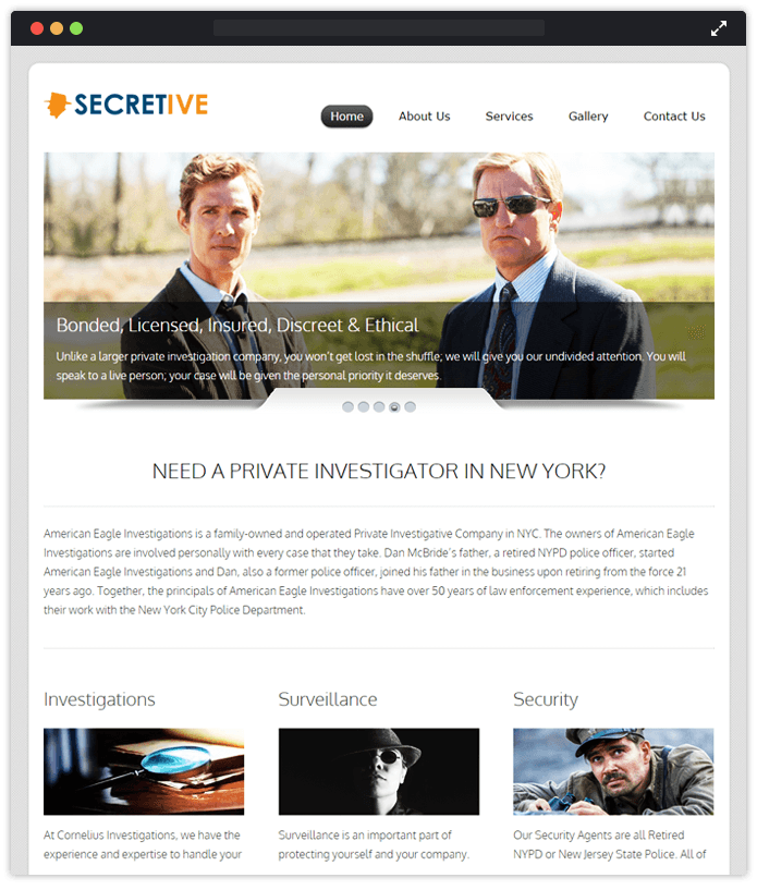 Sectretive-agency-wordpress-InkThemes