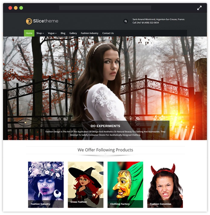 SlicePro WordPress Themes