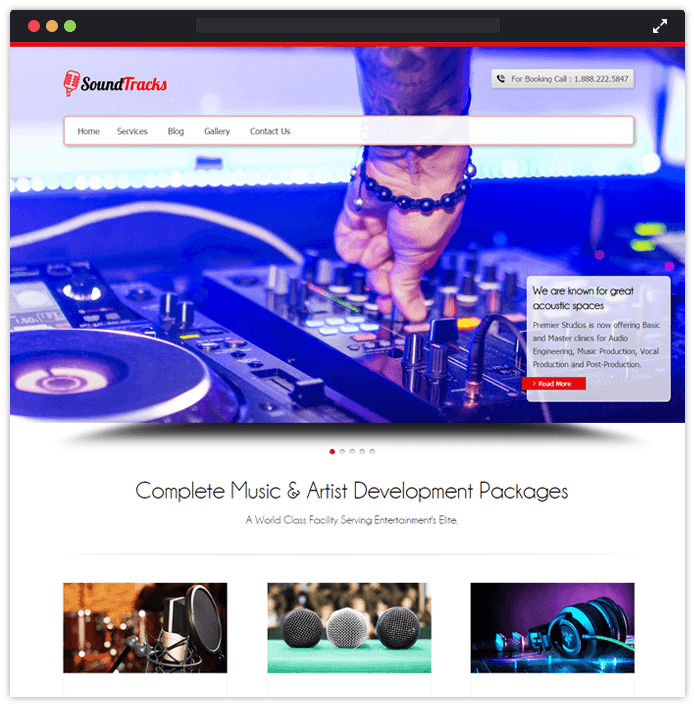 20+ Best Music WordPress Themes For Bands, Musicians 2018