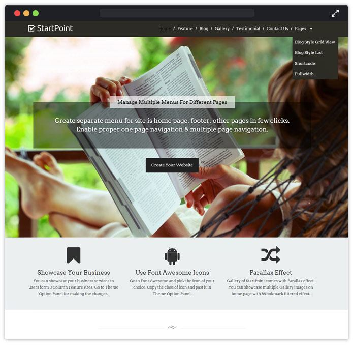 StartPoint Speaker WordPress Themes InkThemes