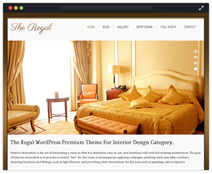 Regal WordPress Theme