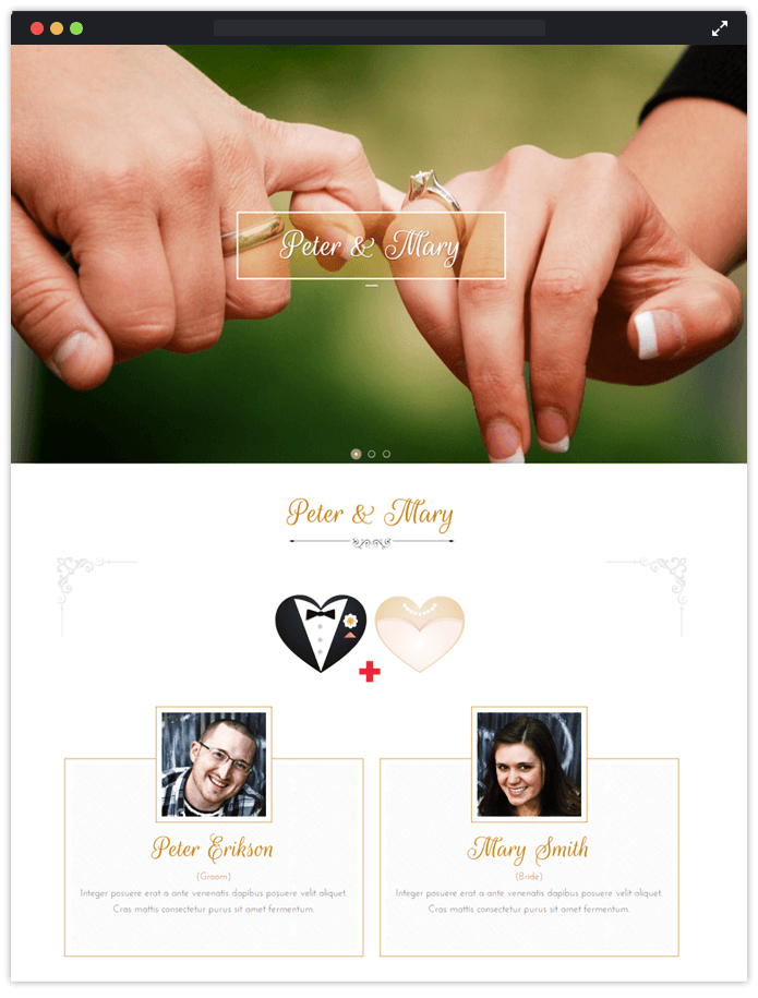 Vivah WordPress Theme