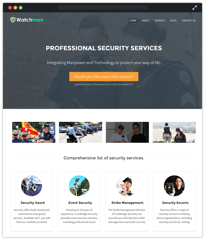 WatchMan-agency-wordpress-InkThemes