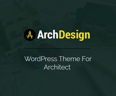 ArchDesign - Architect WordPress Theme