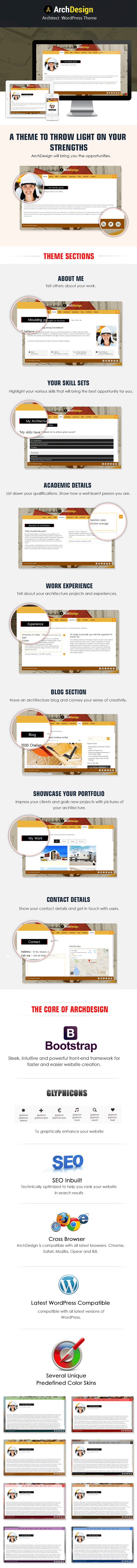archdesign - achitect wordpress theme