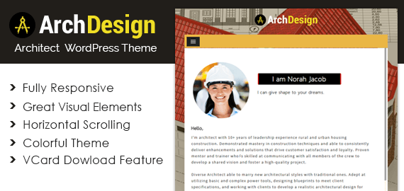 ARCHDESIGN - ARCHITECT WORDPRESS THEME