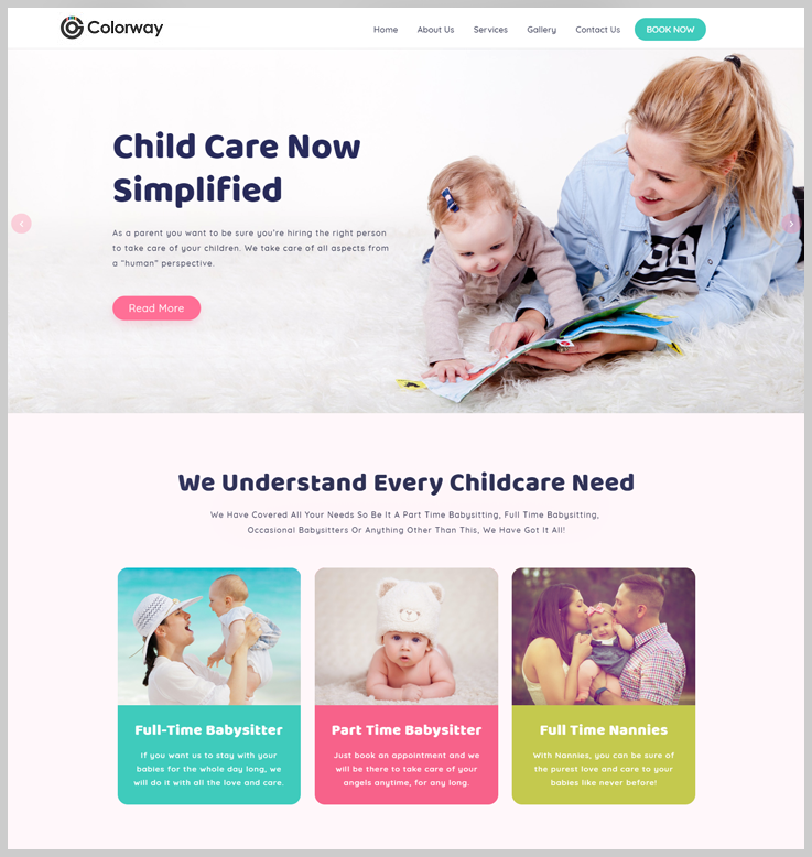 Colorway - Childcare WordPress Theme