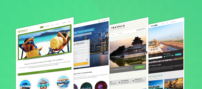 Best Travel &Tour Booking WordPress Themes