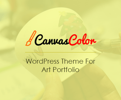 CanvasColor - Art Portfolio WordPress Theme