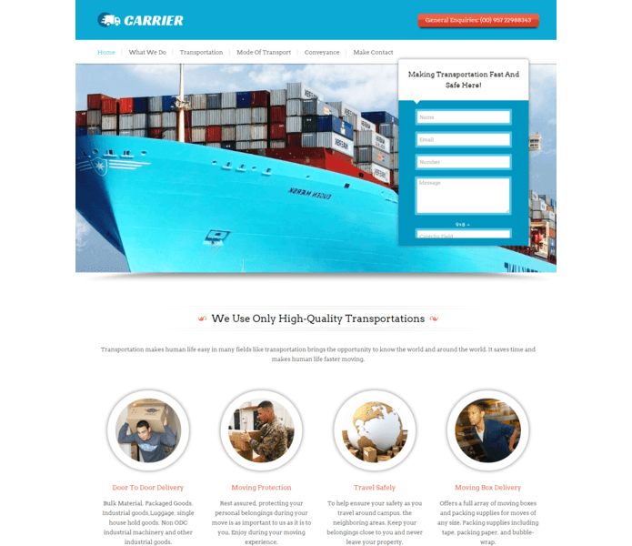 carrier wp theme