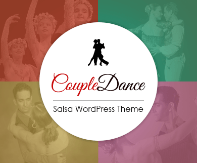 CoupleDance - Salsa WordPress Theme
