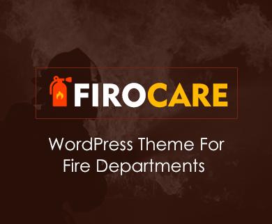 FiroCare - Fire Department WordPress Theme