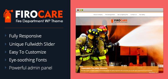 Fire Department WordPress Theme