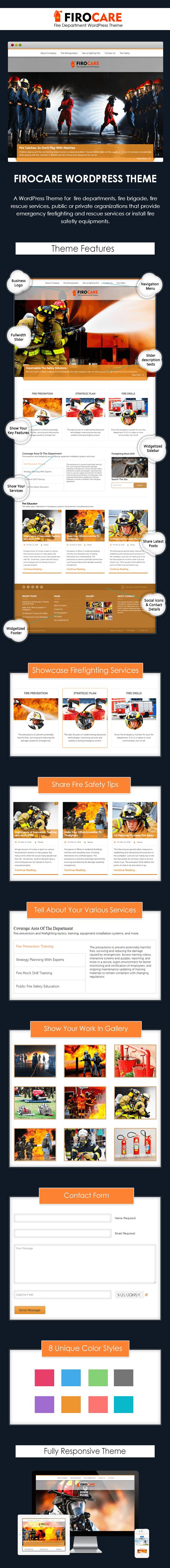 fire house wordpress theme