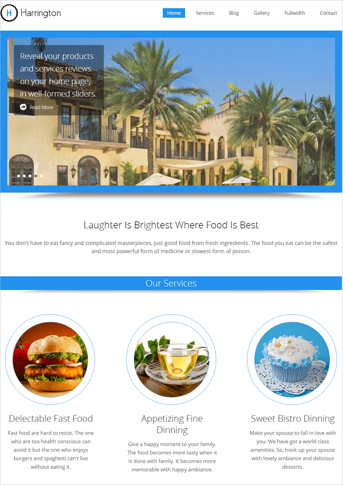 15+ Best Restaurant WordPress Themes 2018 | InkThemes