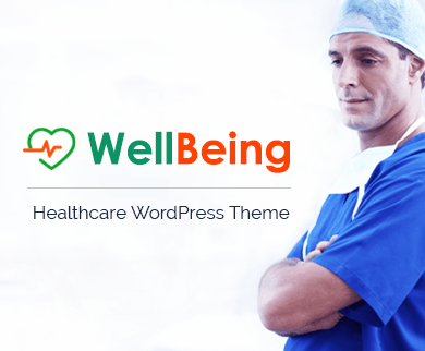 WellBeing - Healthcare WordPress Theme