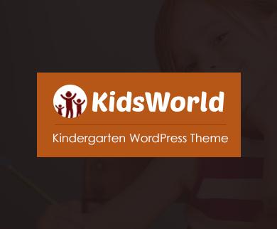 KidsWorld - Kindergarten WordPress Theme
