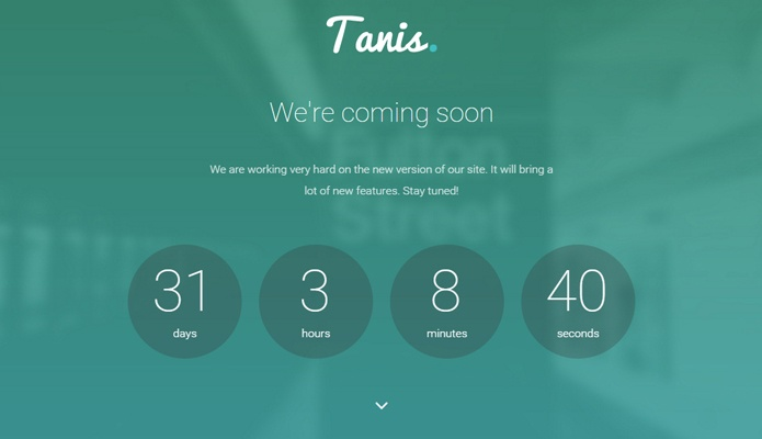 Tanis WP Theme