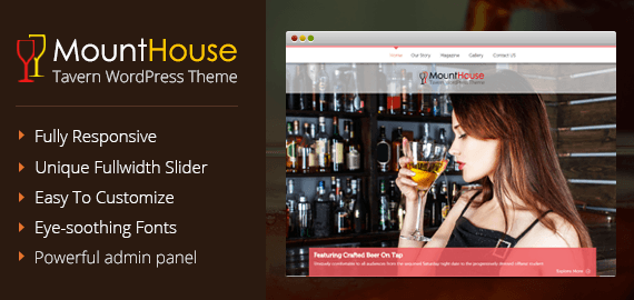 Taverns Restaurant WordPress Theme