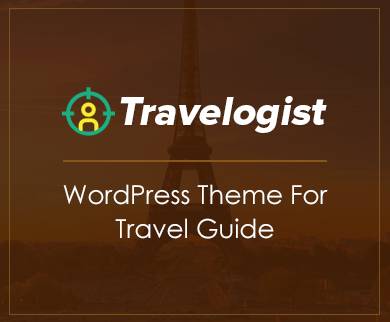 Travelogist - Travel Guide WordPress Theme