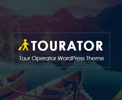 Tourator - Tour Operator WordPress Theme