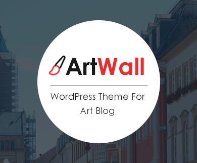 ArtWall - Art Blog WordPress Theme