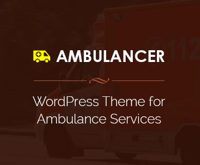 Ambulancer - Ambulance & Ambulette WordPress Theme