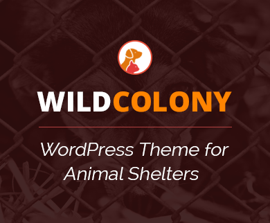 WildColony - Animal Shelter WordPress Theme