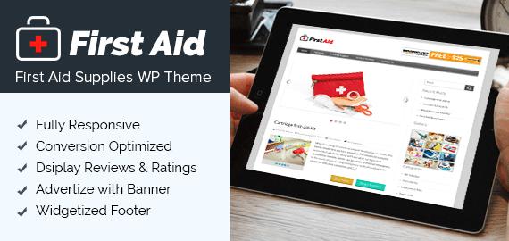 First Aid WordPress Theme