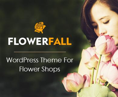 Flowerfall - Flower Shop WordPress Theme
